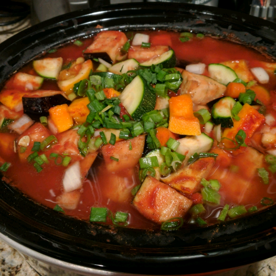 Slow Cooker Mediterranean Stew Recipe