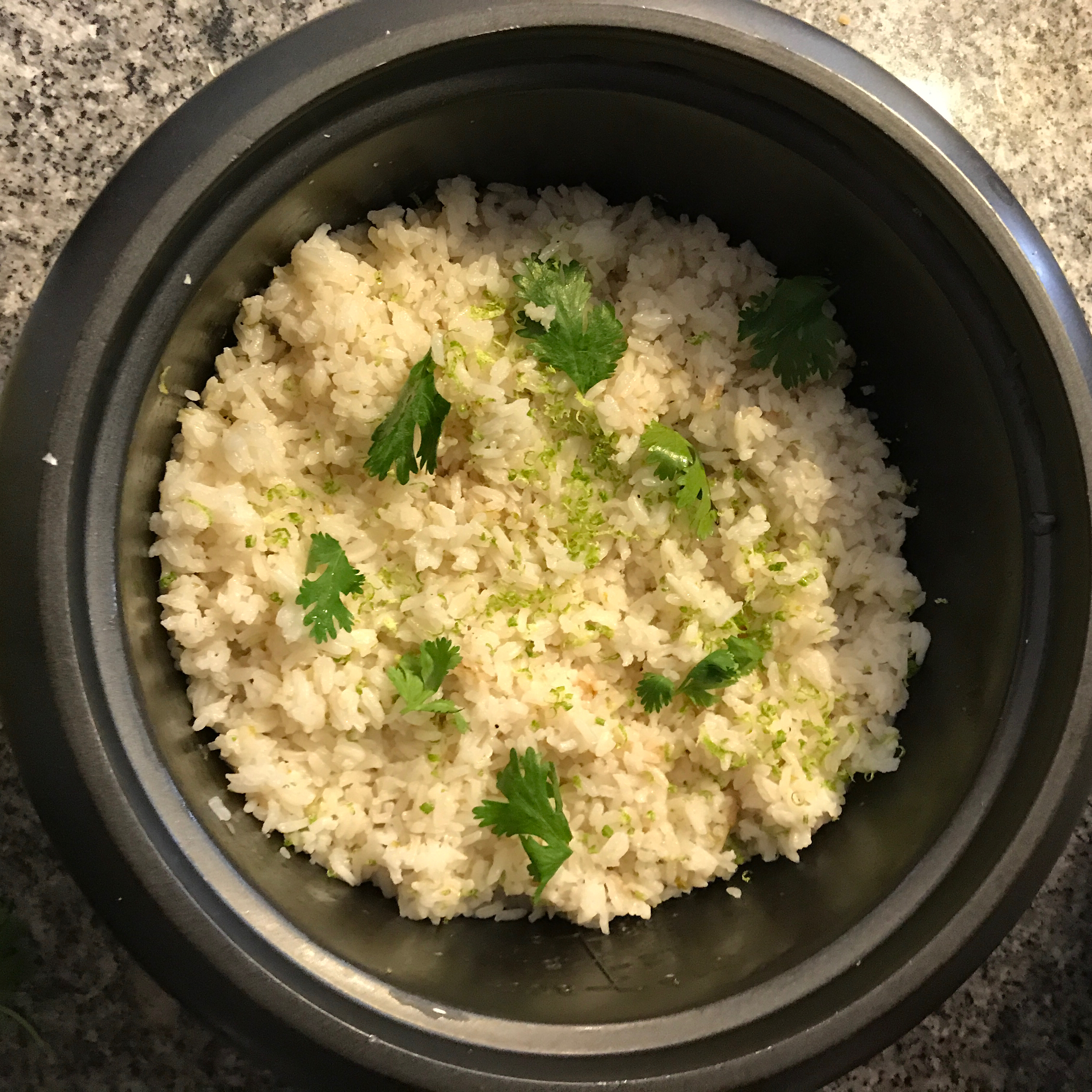Coconut Lime Rice Nocansay