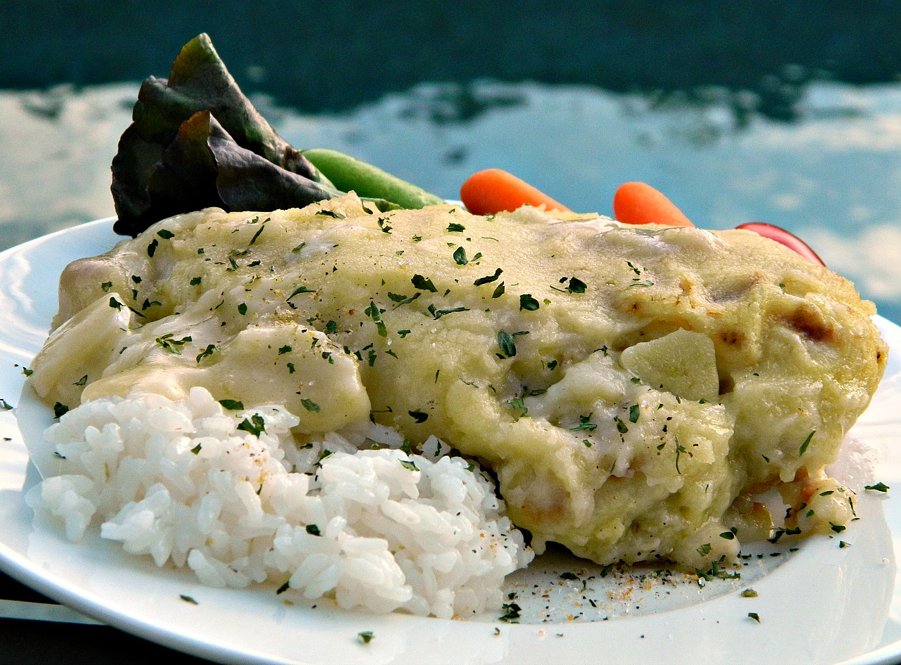 Chicken Francese, Italian-Style Marianne