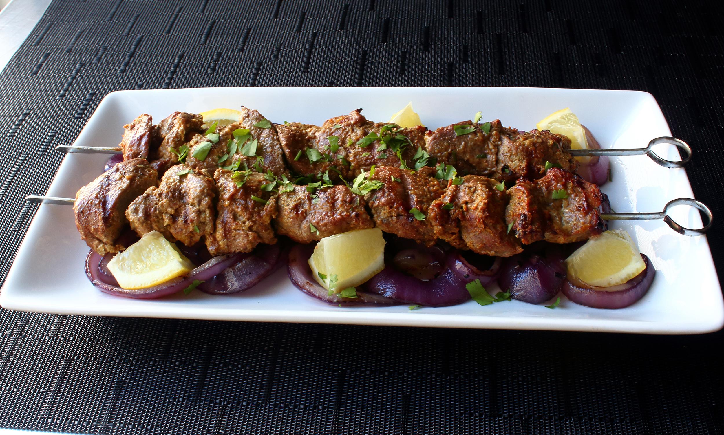 "Grilled ""Tandoori"" Lamb"