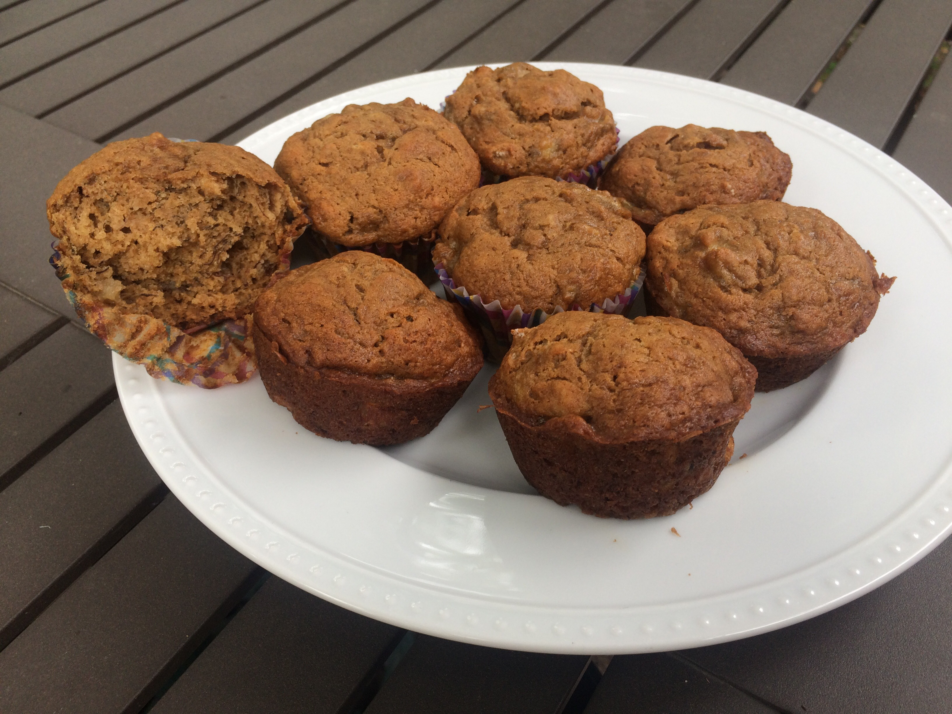 Best Bake Sale Banana Muffins