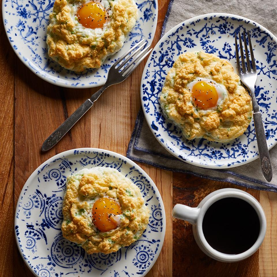 Parmesan Cloud Eggs Carolyn Casner