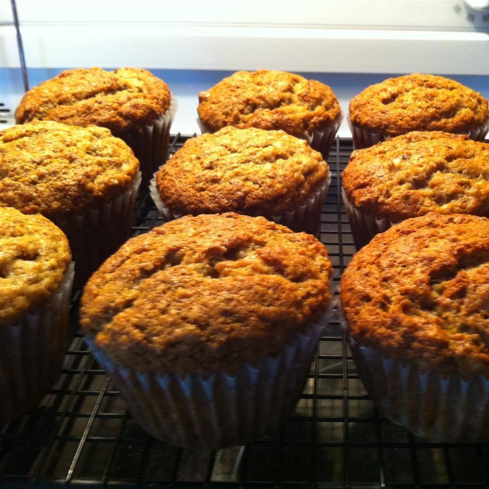 Banana and Flax Seed Muffins image