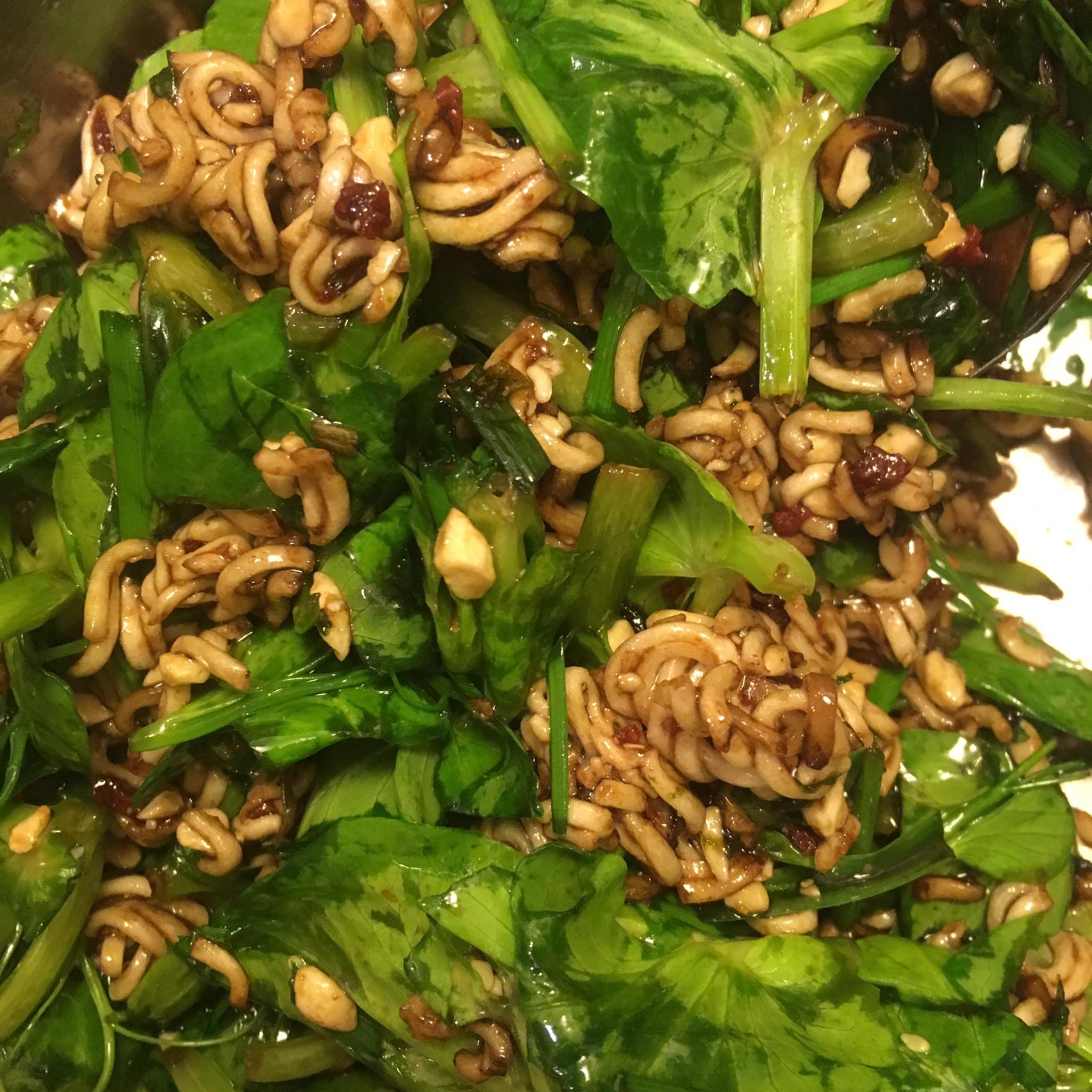 Bok Choy Ramen Salad Mindy Herren Gallatti
