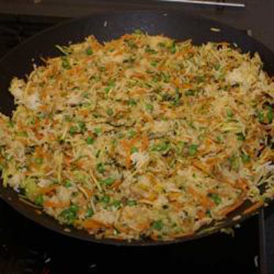 Fried Rice with Vegetables and Peas image