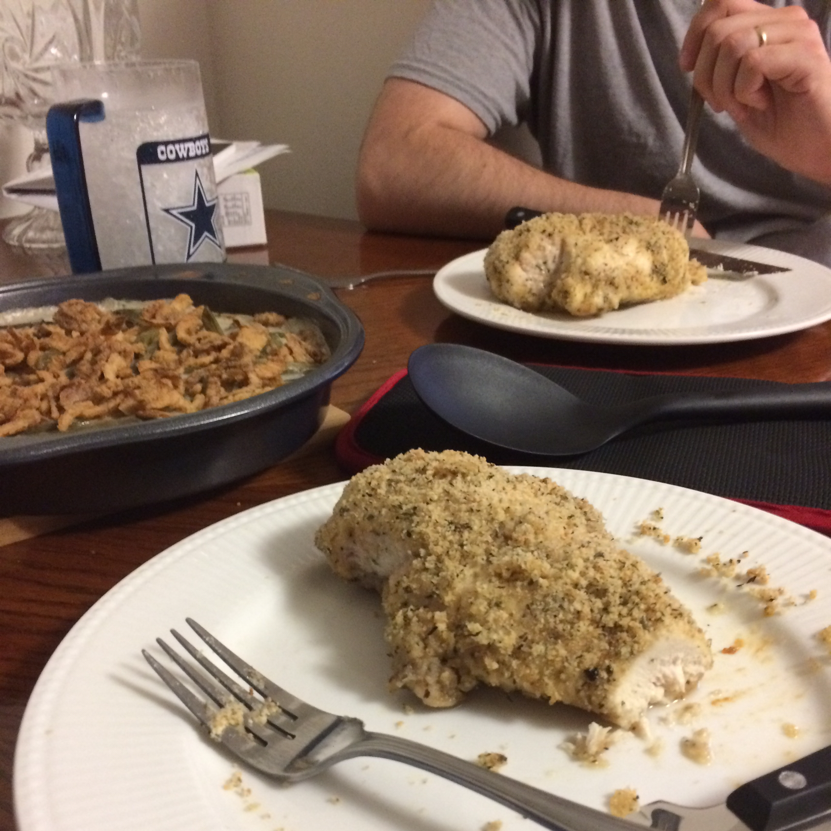 Baked Parmesan-Crusted Chicken Lena R