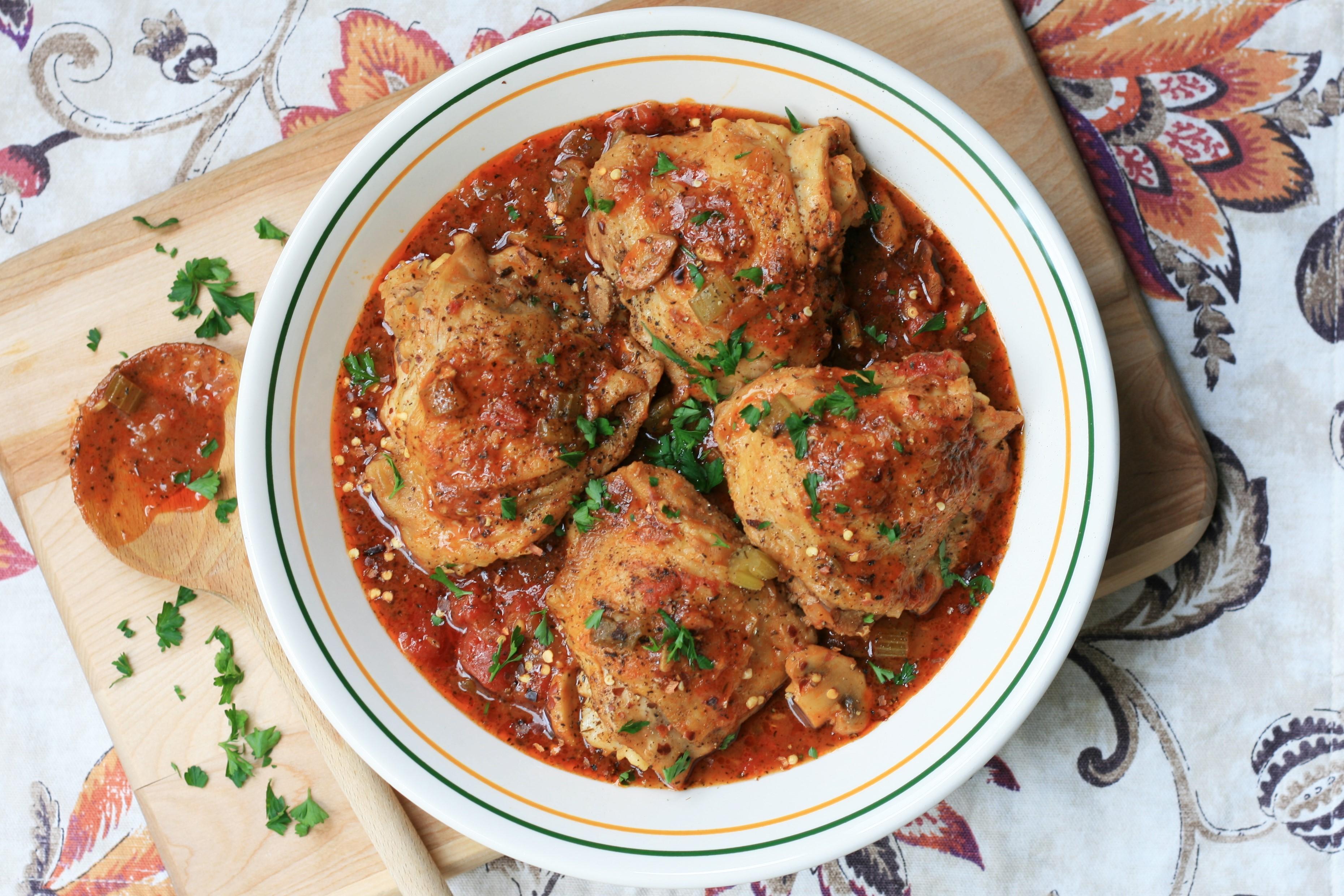 Instant Pot(R) Chicken Cacciatore Recipe