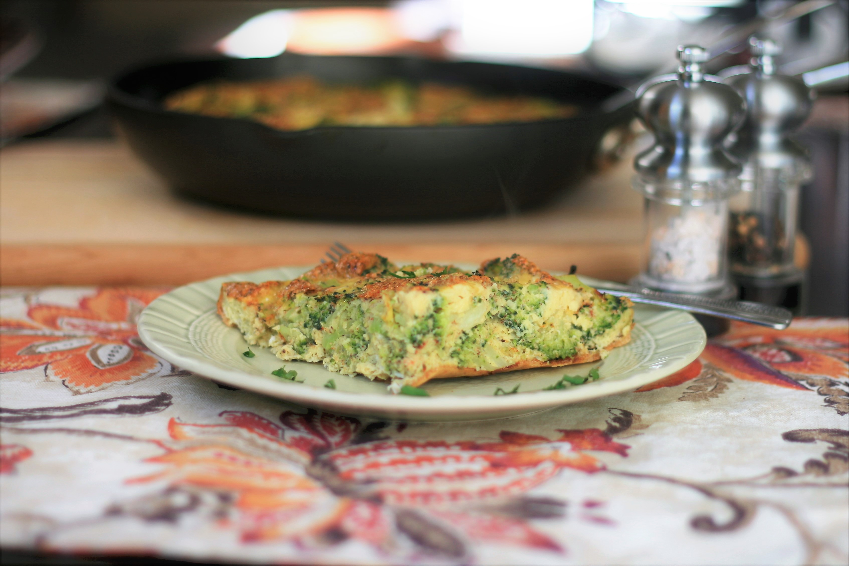 Easy Broccoli Frittata Yuhui Xu