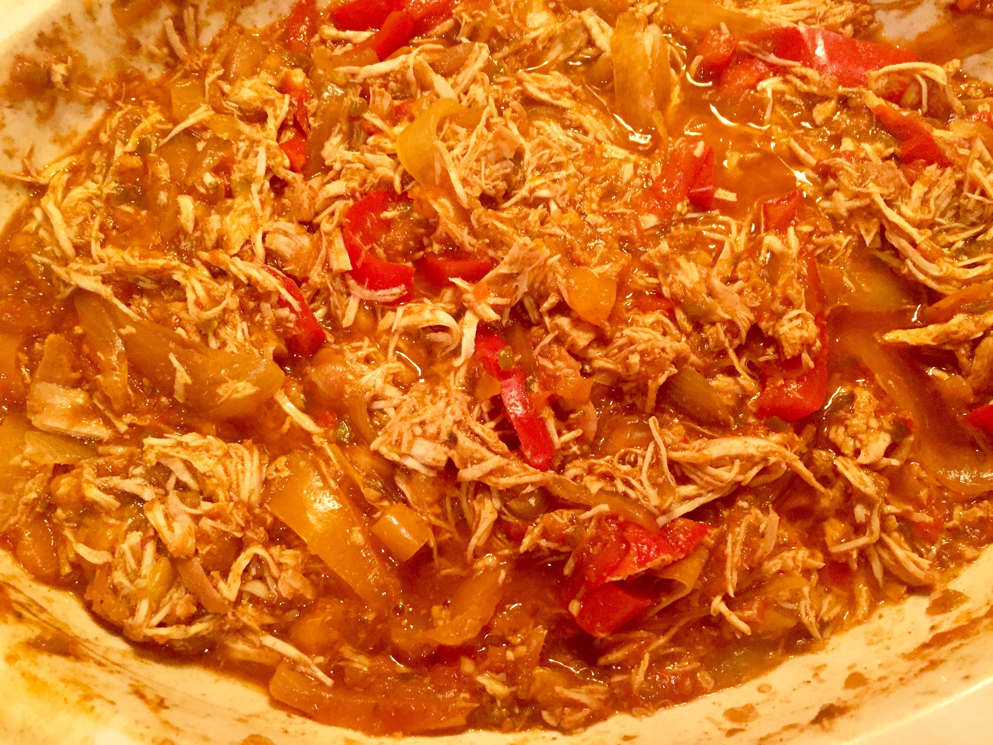 Karen's Slow Cooker Chicken Fajitas