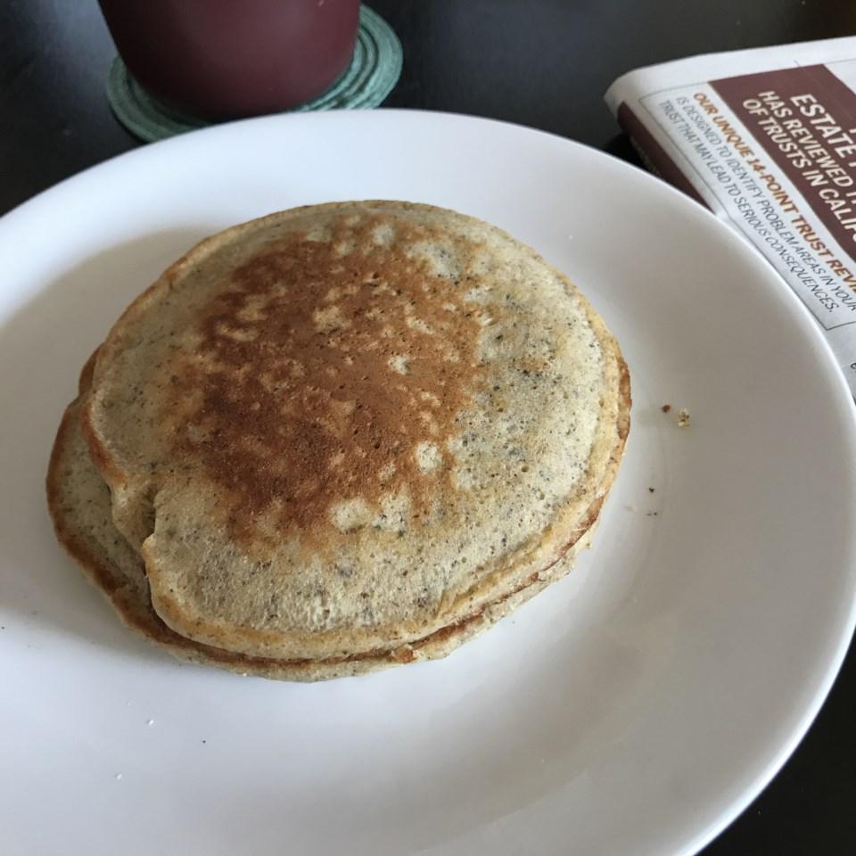 Easy High-Fiber Pancakes
