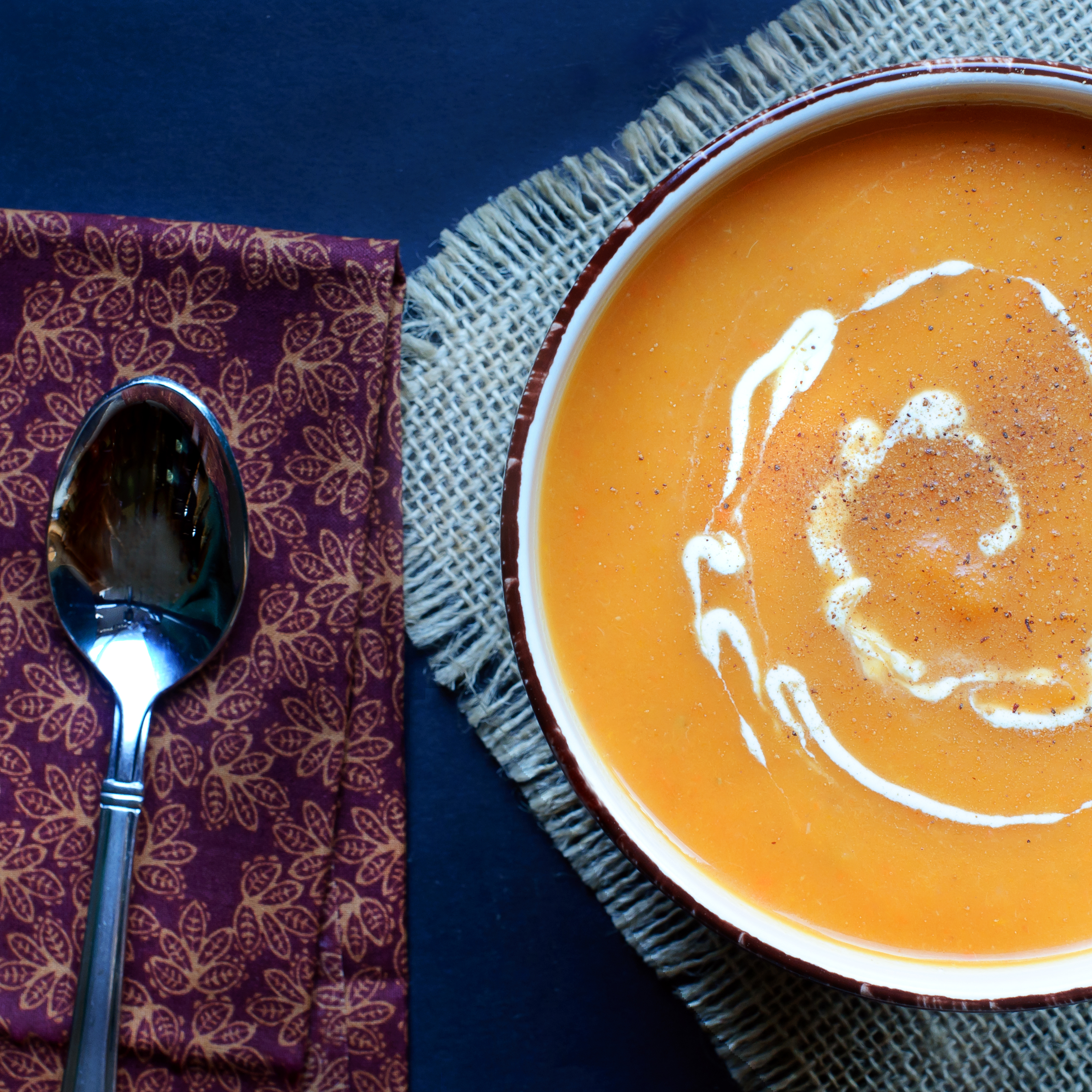Easy Butternut Squash and Pear Soup rxspo
