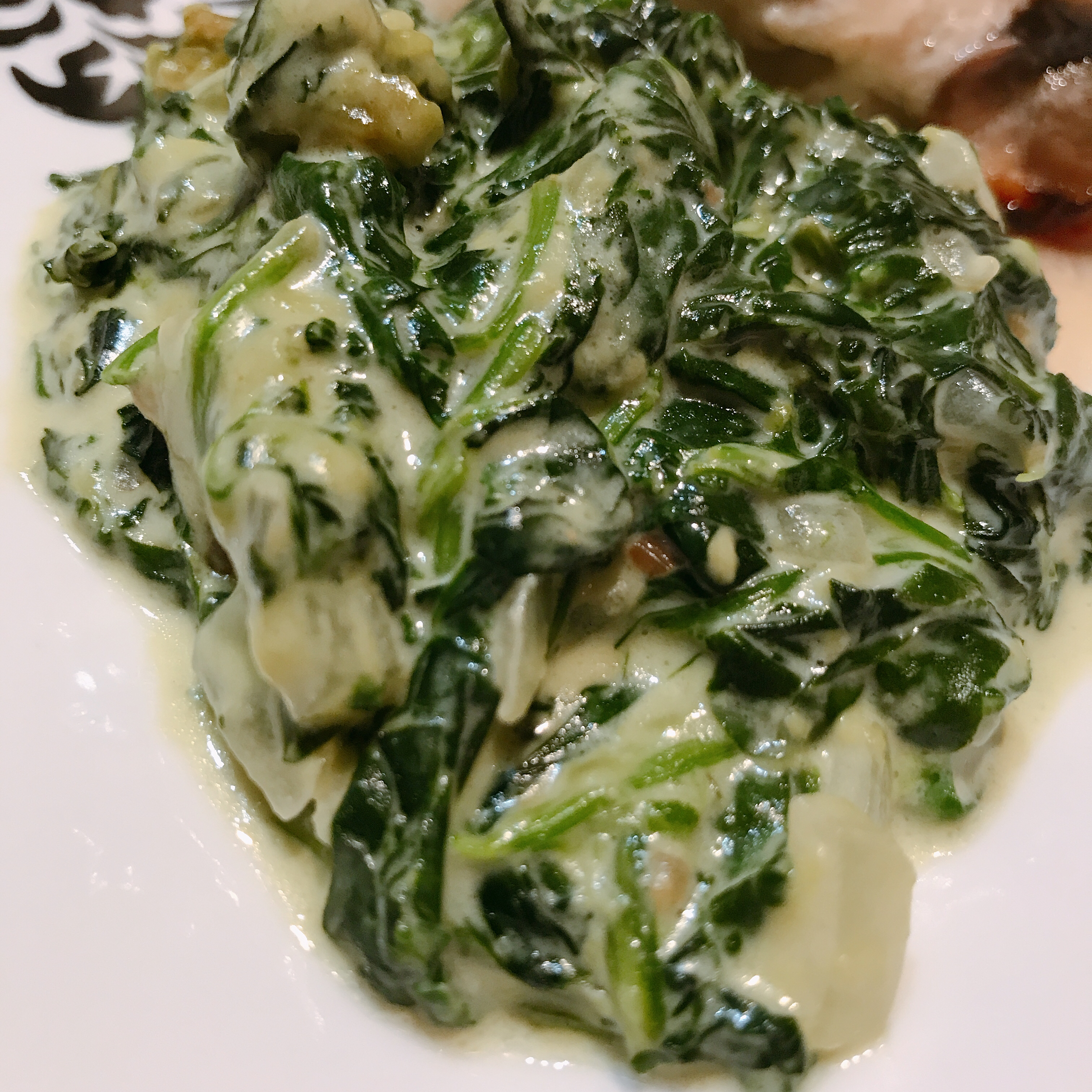 Creamed Spinach I