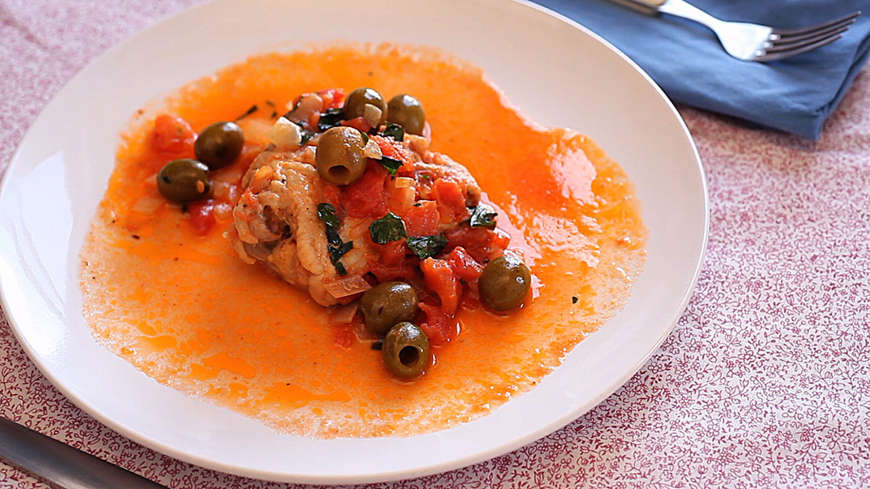 Italian Chicken Cacciatore