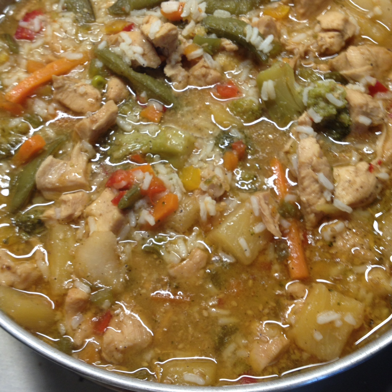 Easy Sweet and Sour Chicken from Minute(R) Rice Minute Rice