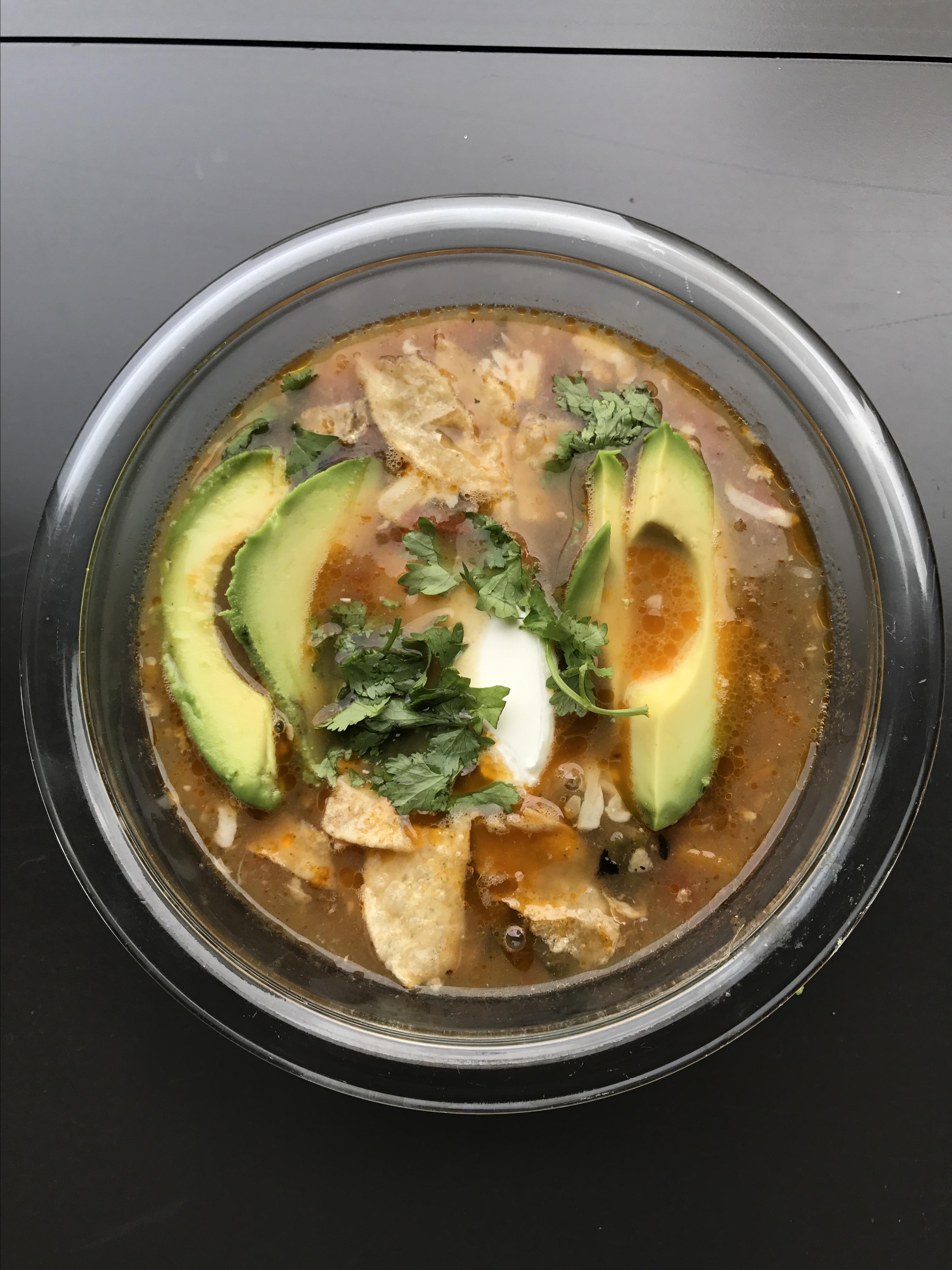 Instant Pot(R) Chicken Tortilla Soup Recipe