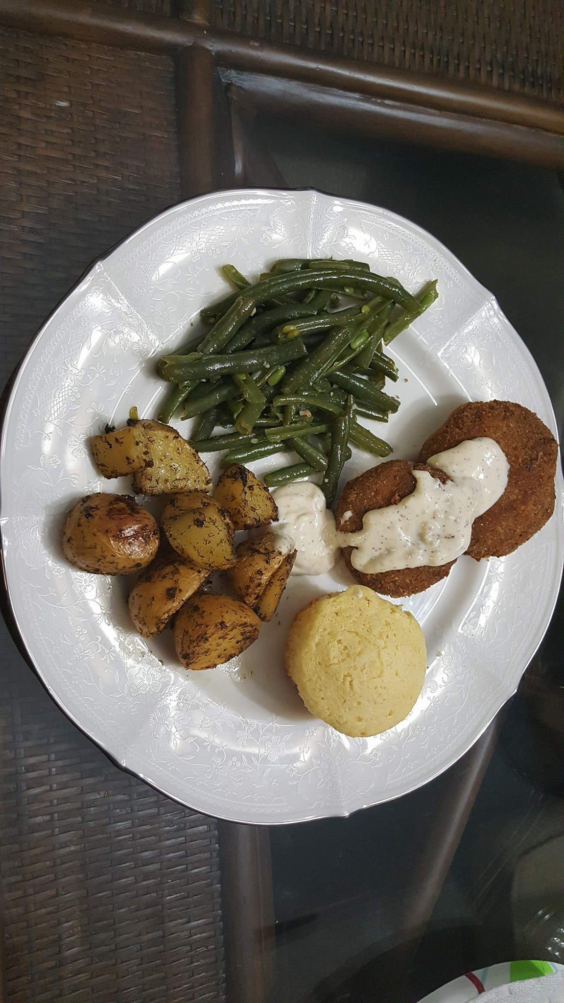 Pan Fried Chicken Croquettes Brigette Parsons