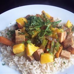 Zippy Tofu Stir-Fry