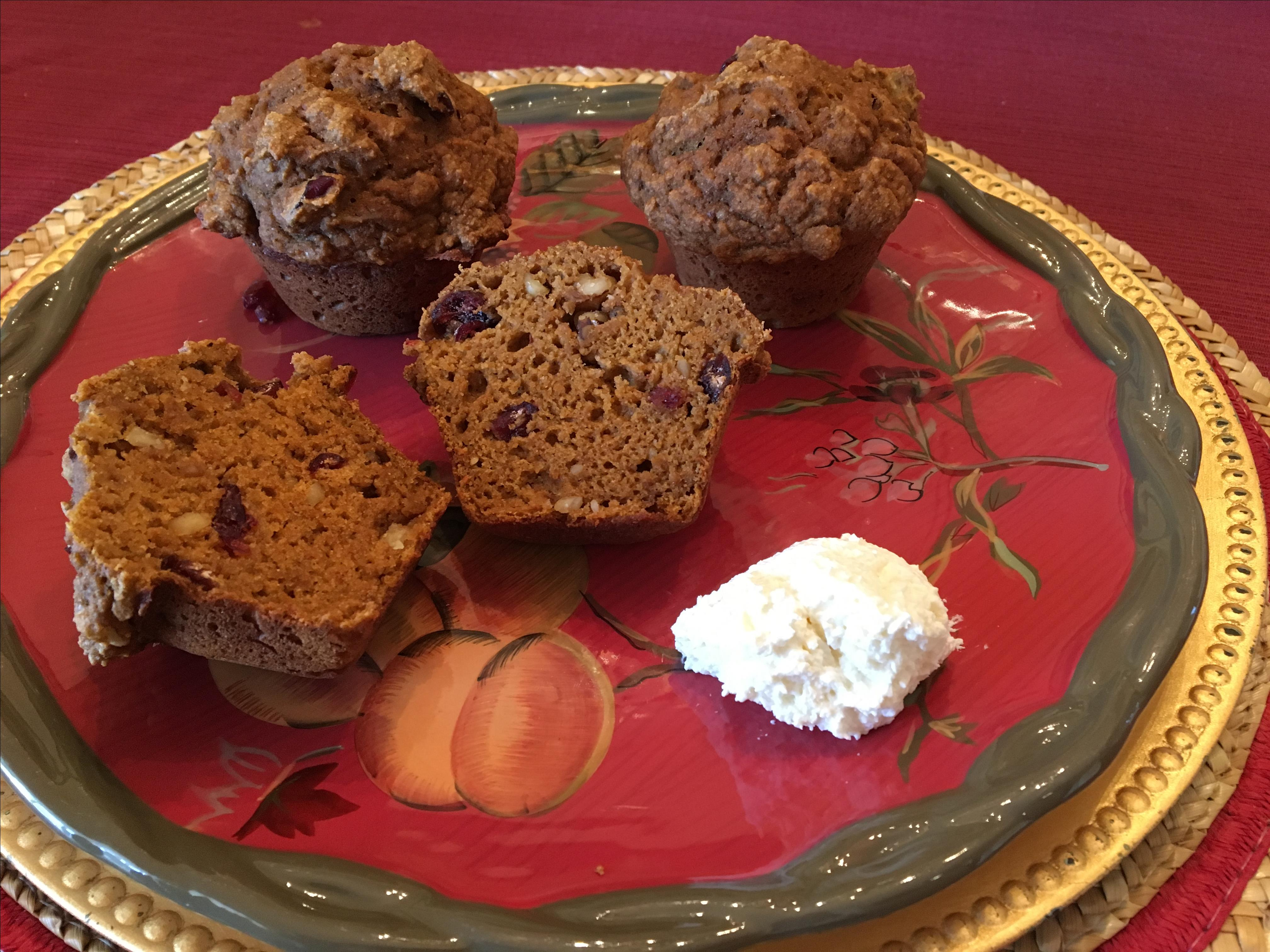 Pumpkin-Apple Cider Muffins