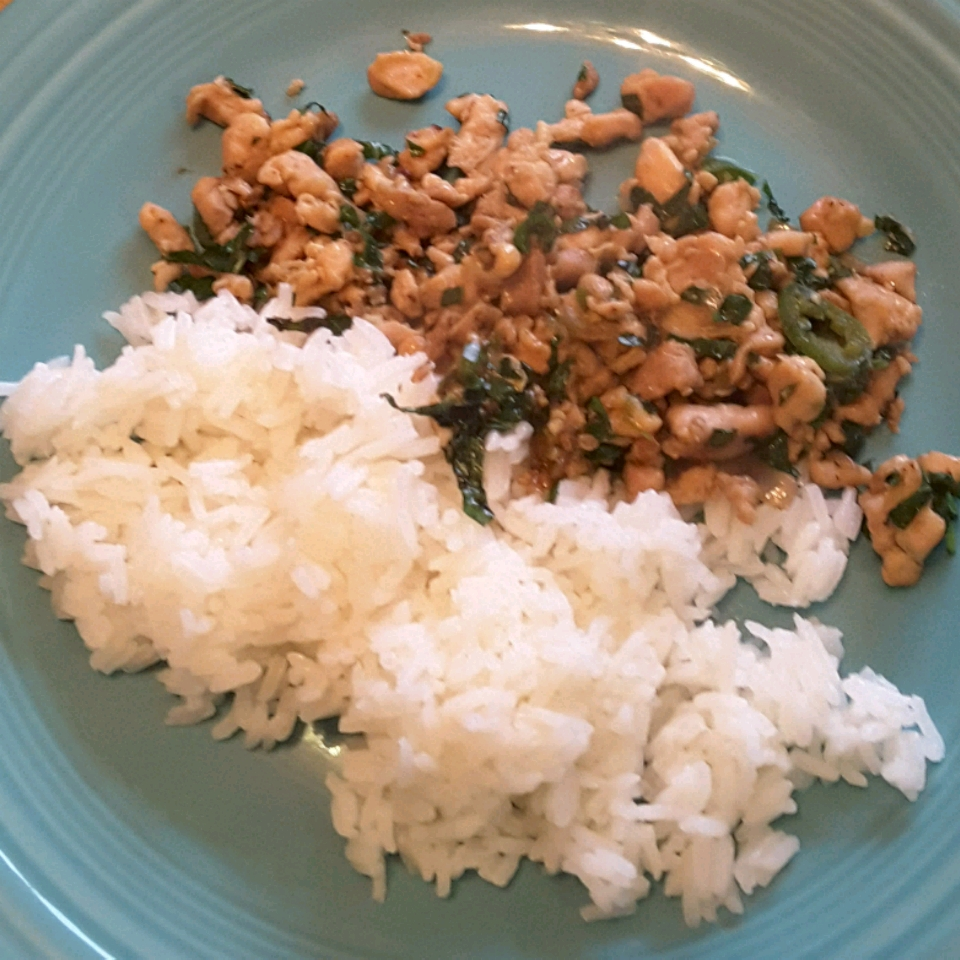 Spicy Thai Basil Chicken (Pad Krapow Gai) Trefrosk