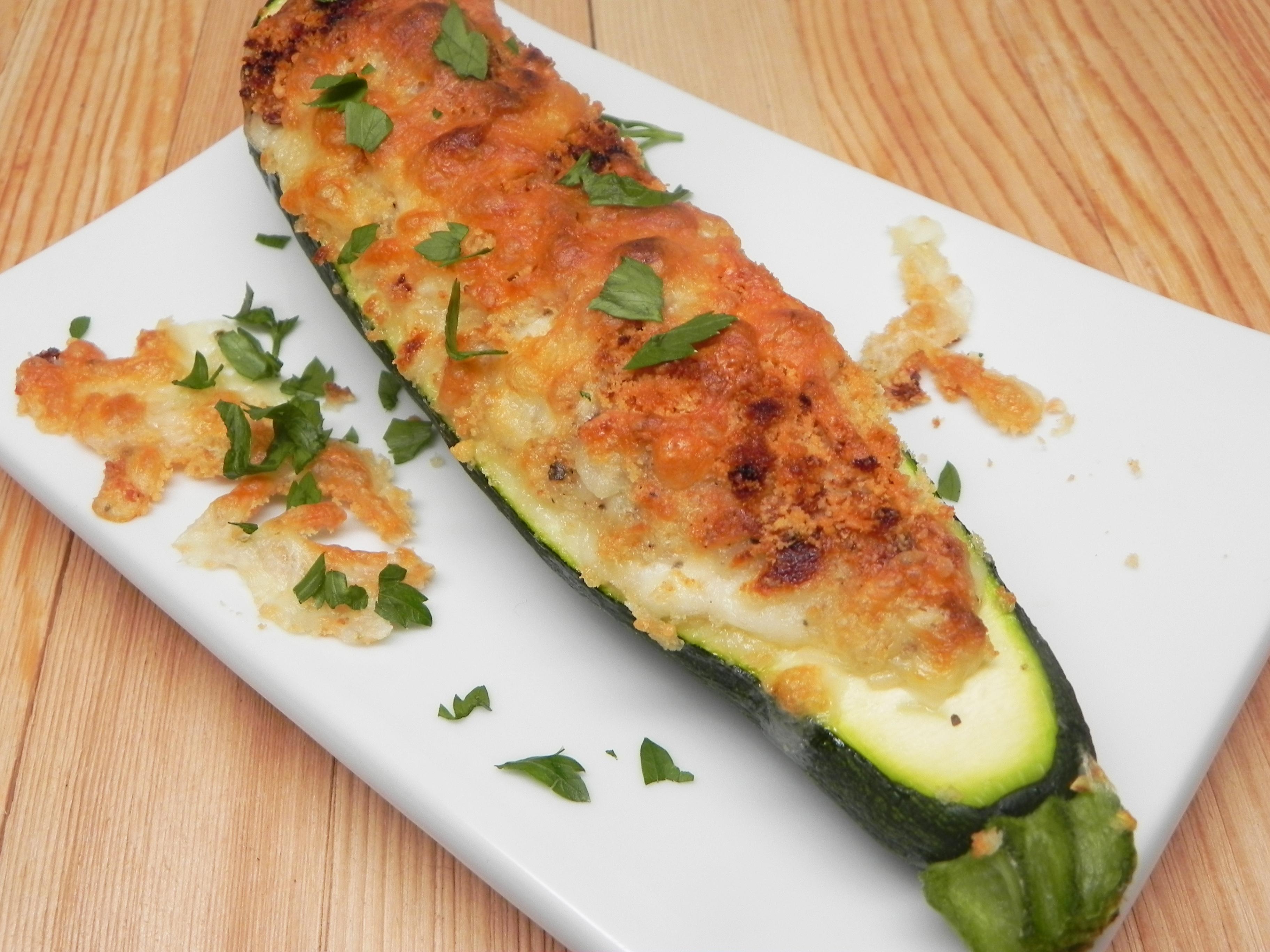 Overstuffed Zucchini