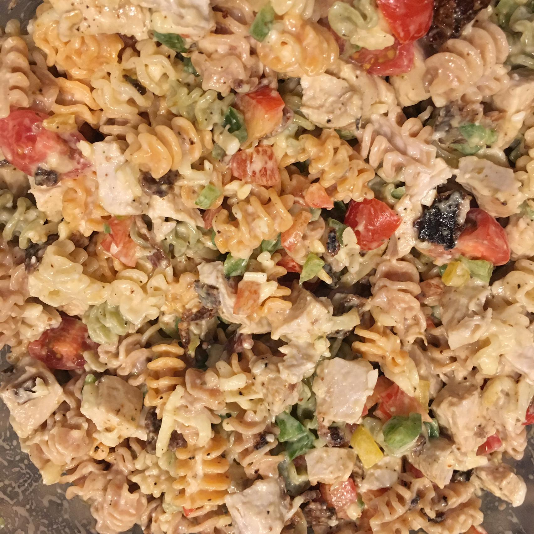 Chicken Club Pasta Salad Moni
