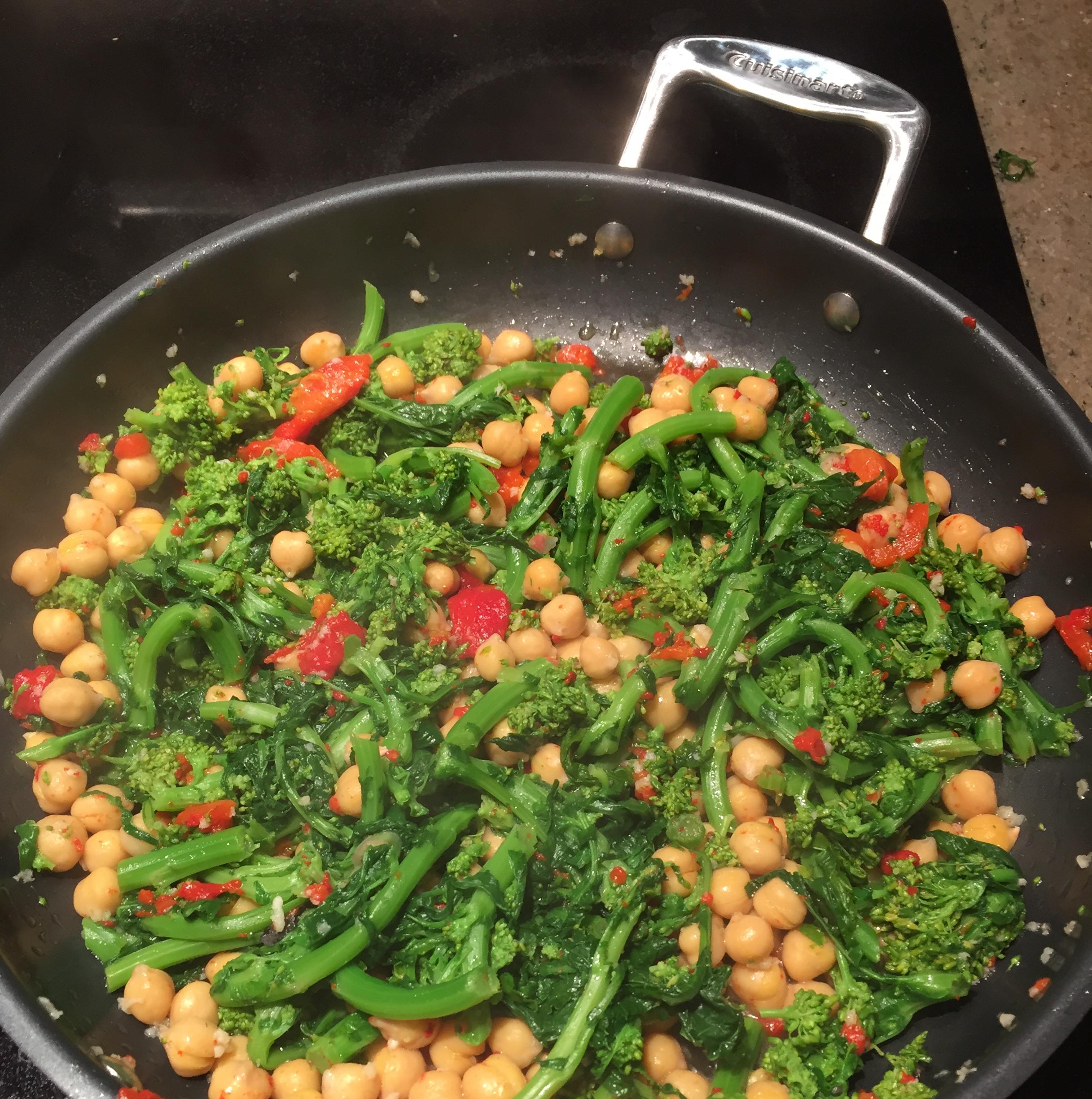 Sicilian-Style Broccoli Rabe vparillo