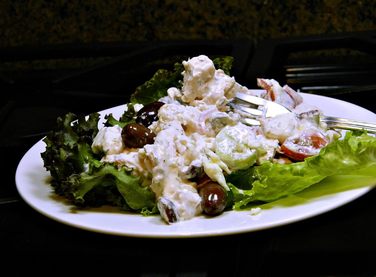 Greek-Inspired Chicken Salad janet