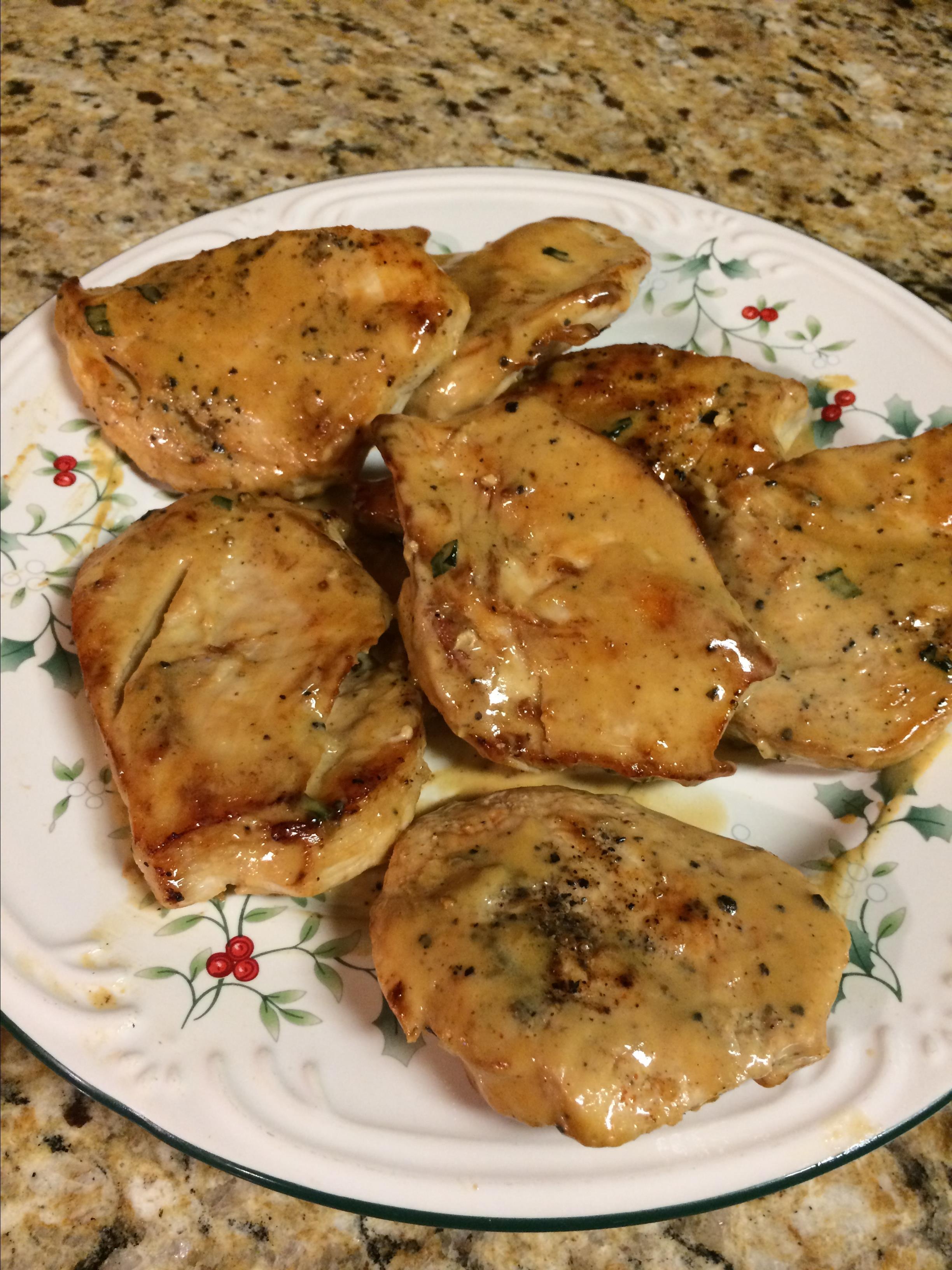 Dijon-Tarragon Cream Chicken
