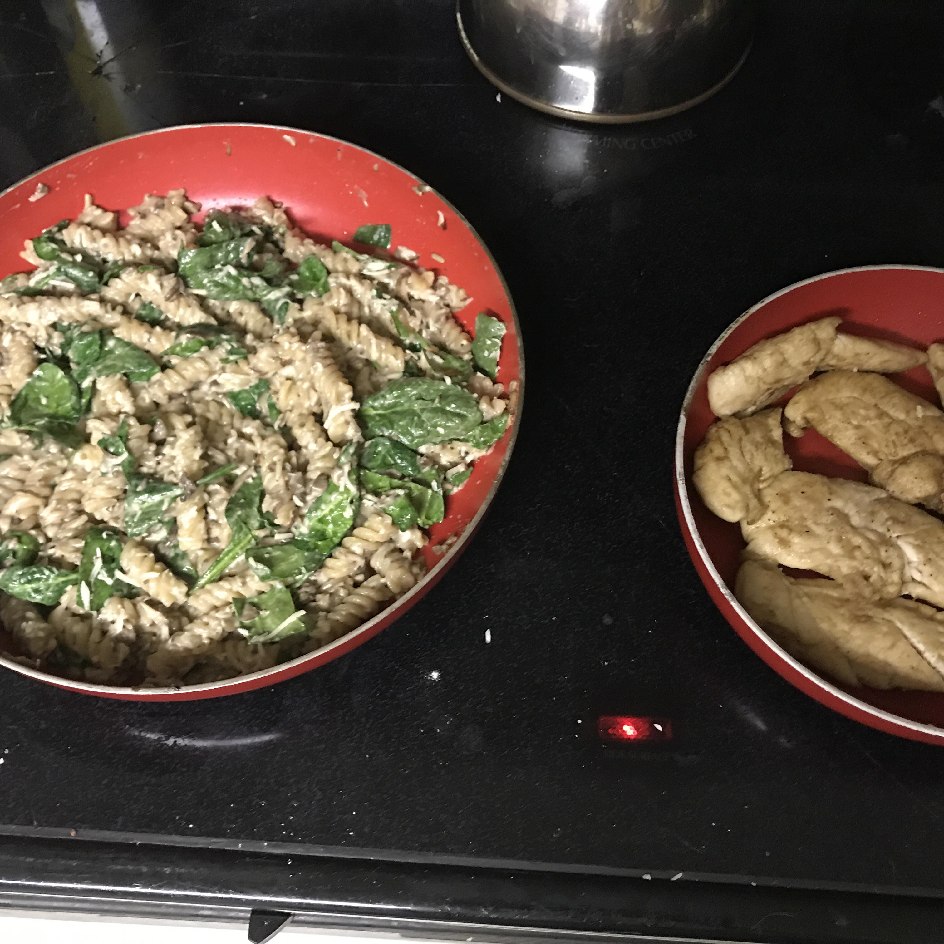 Asiago Chicken Pasta Ariel Henbest