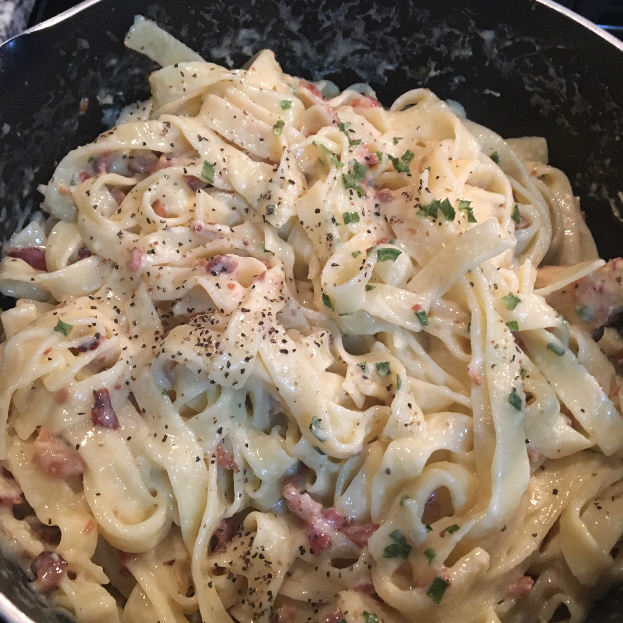 Pasta Carbonara I