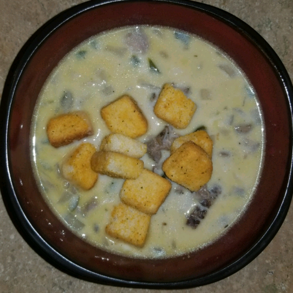 Philly Cheese Steak Soup Todd Lively