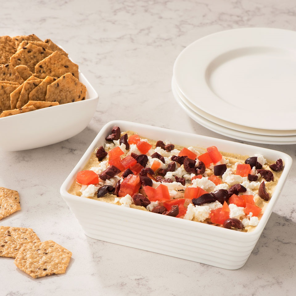 Baked Hummus Crunchmaster®