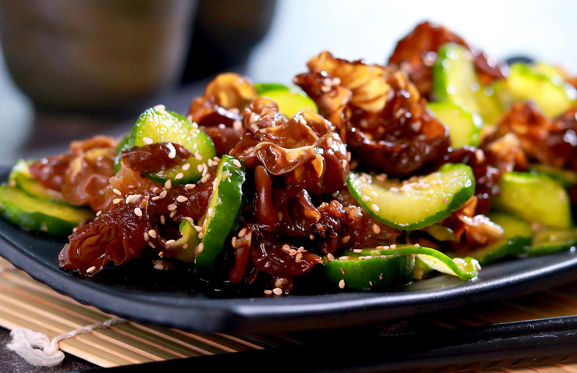 Chilled Cucumber and Wood Ear Mushroom Salad Recipe | Allrecipes