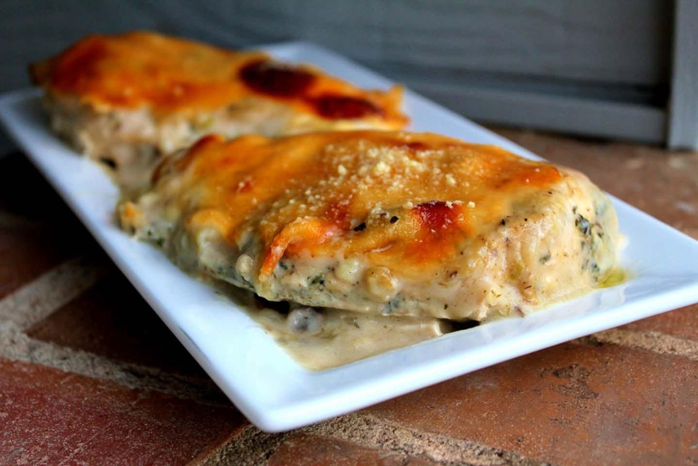 Mozzarella Parmesan Chicken Jacque
