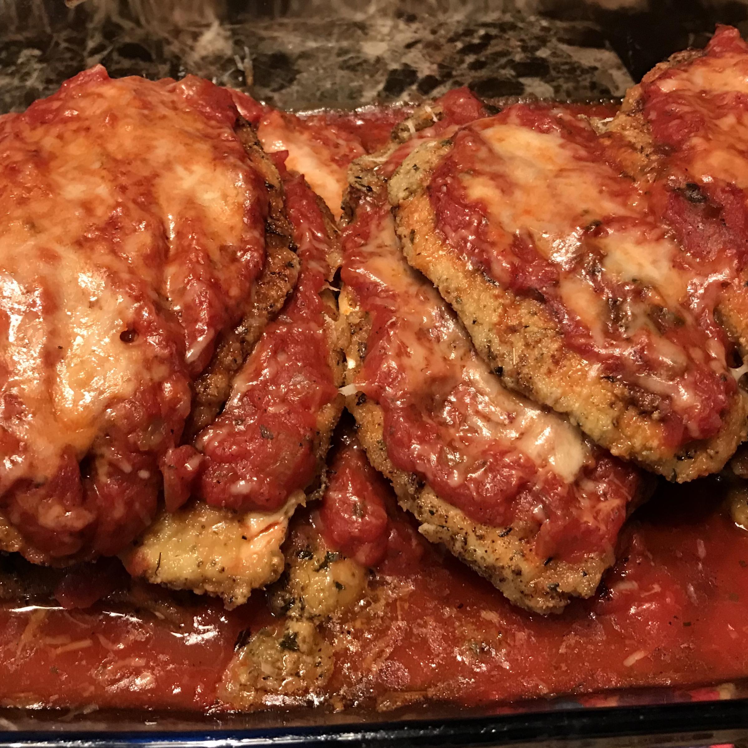 Paleo Chicken Parmesan Cindy Anschutz Barbieri