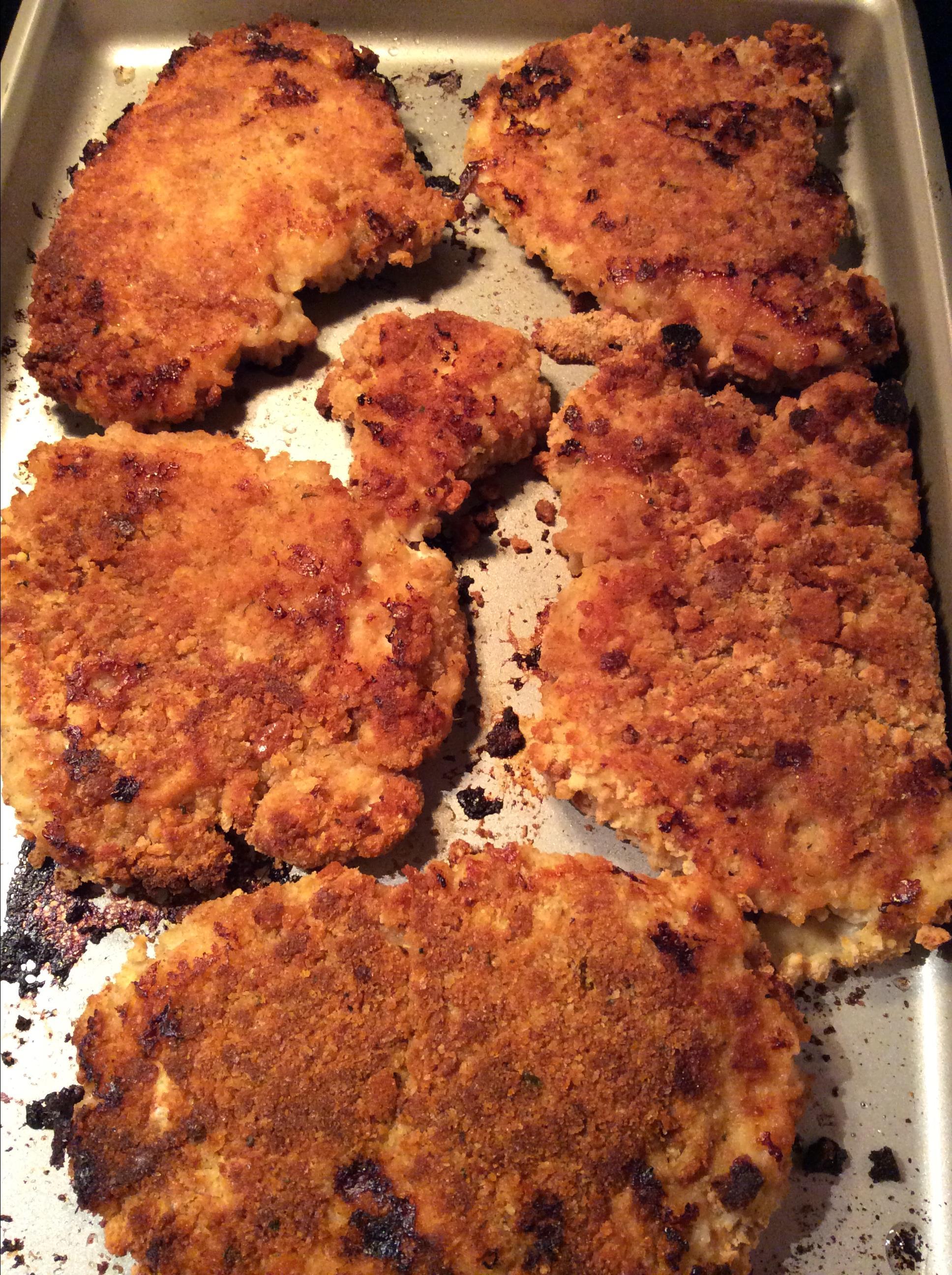 Crispy Juicy Oven-Fried Chicken Breasts SMAVTOP