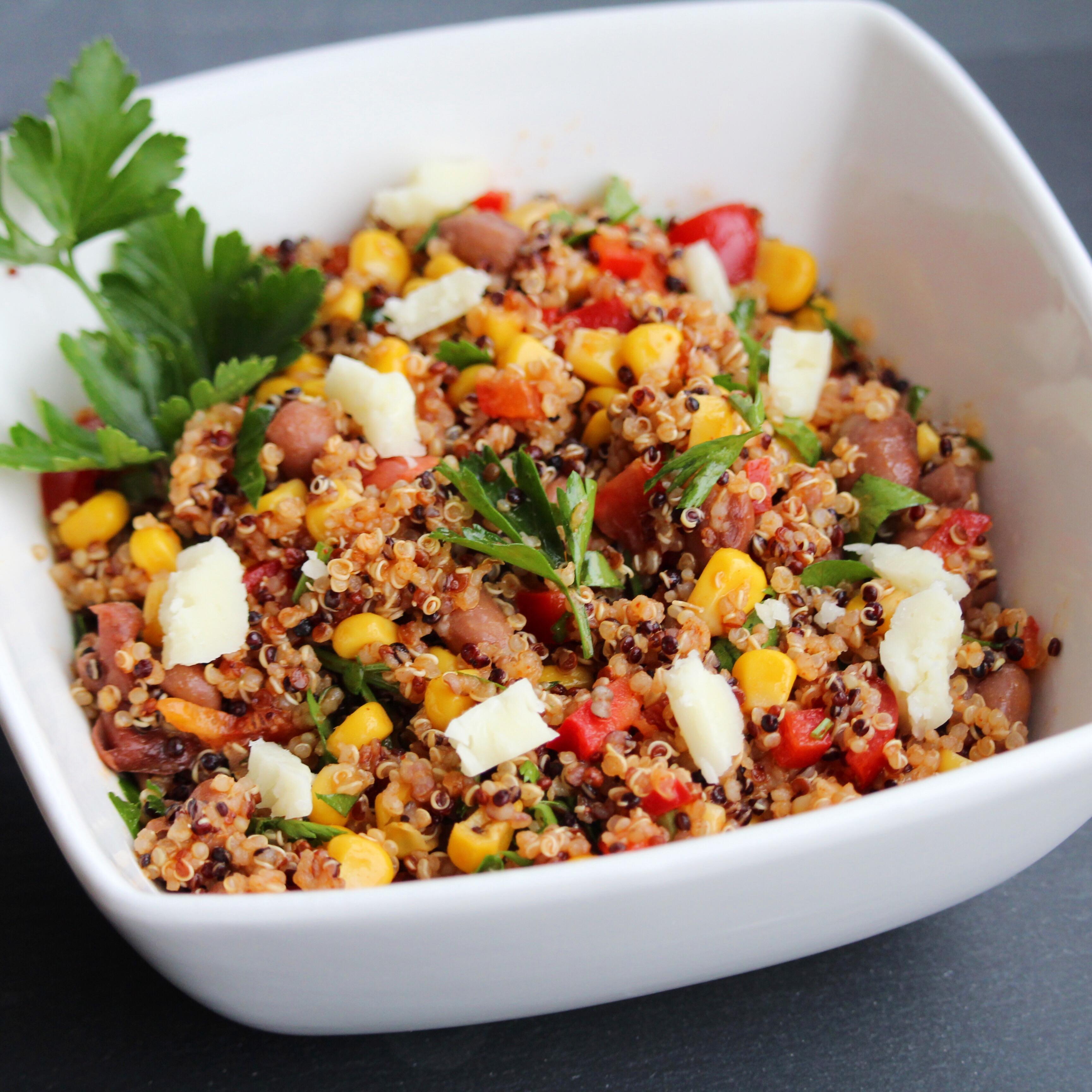 Southwestern Quinoa Salad Ashley Steele