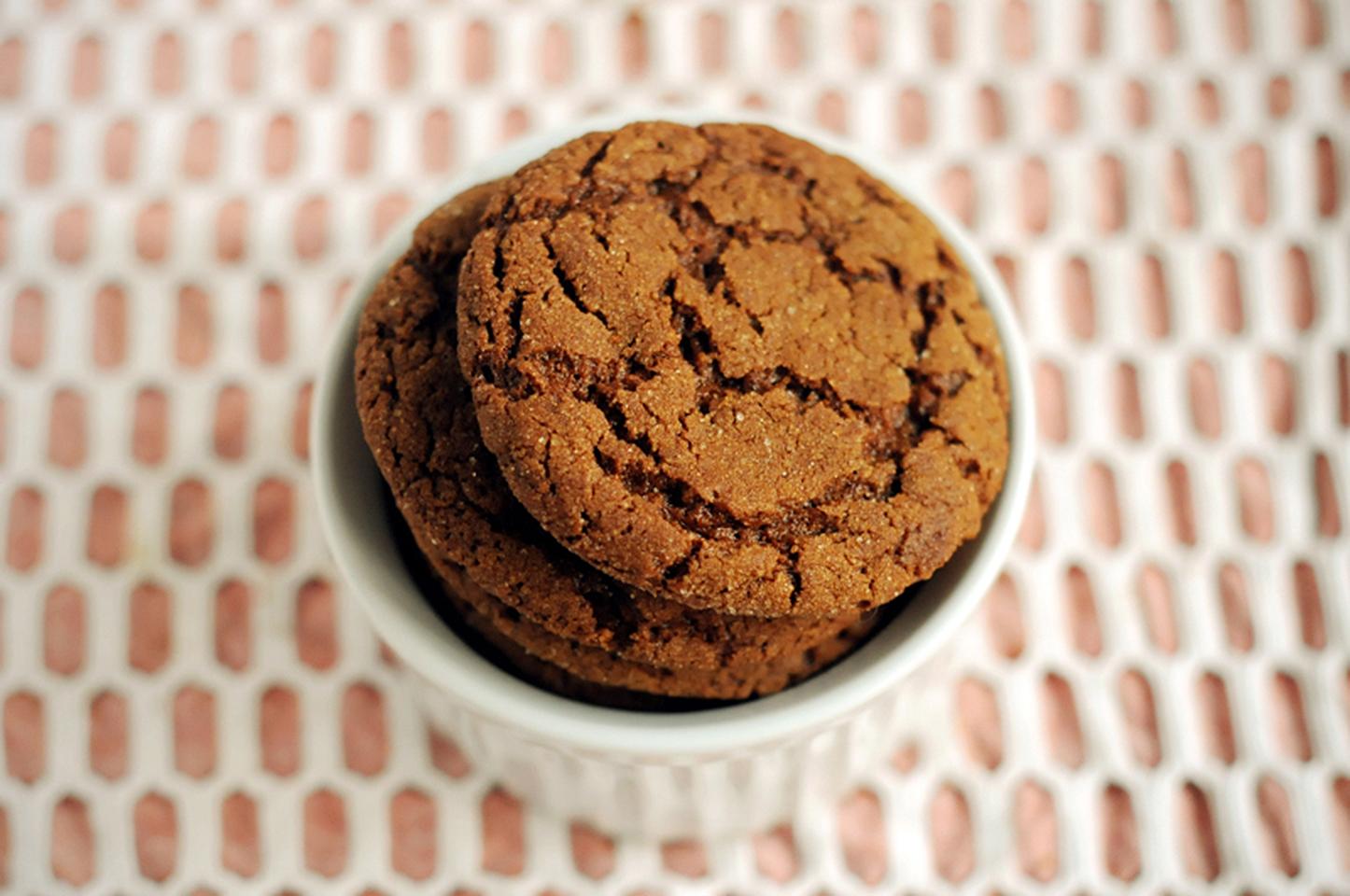 Big Soft Ginger Cookies_image