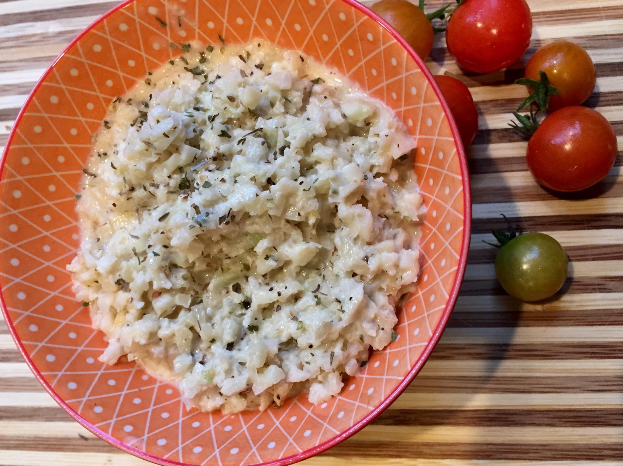 Creamy Keto Cauliflower Risotto