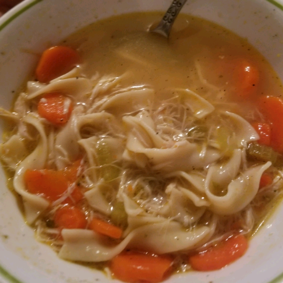 Awesome Chicken Noodle Soup Kristee Pramuk