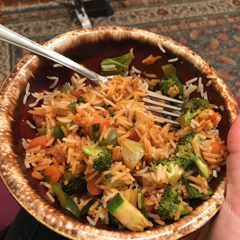 Stir-Fried Vegetables with Chicken or Pork Lauren Hunt