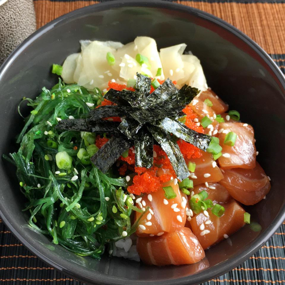 Do-It-Yourself Salmon Poke Bowls