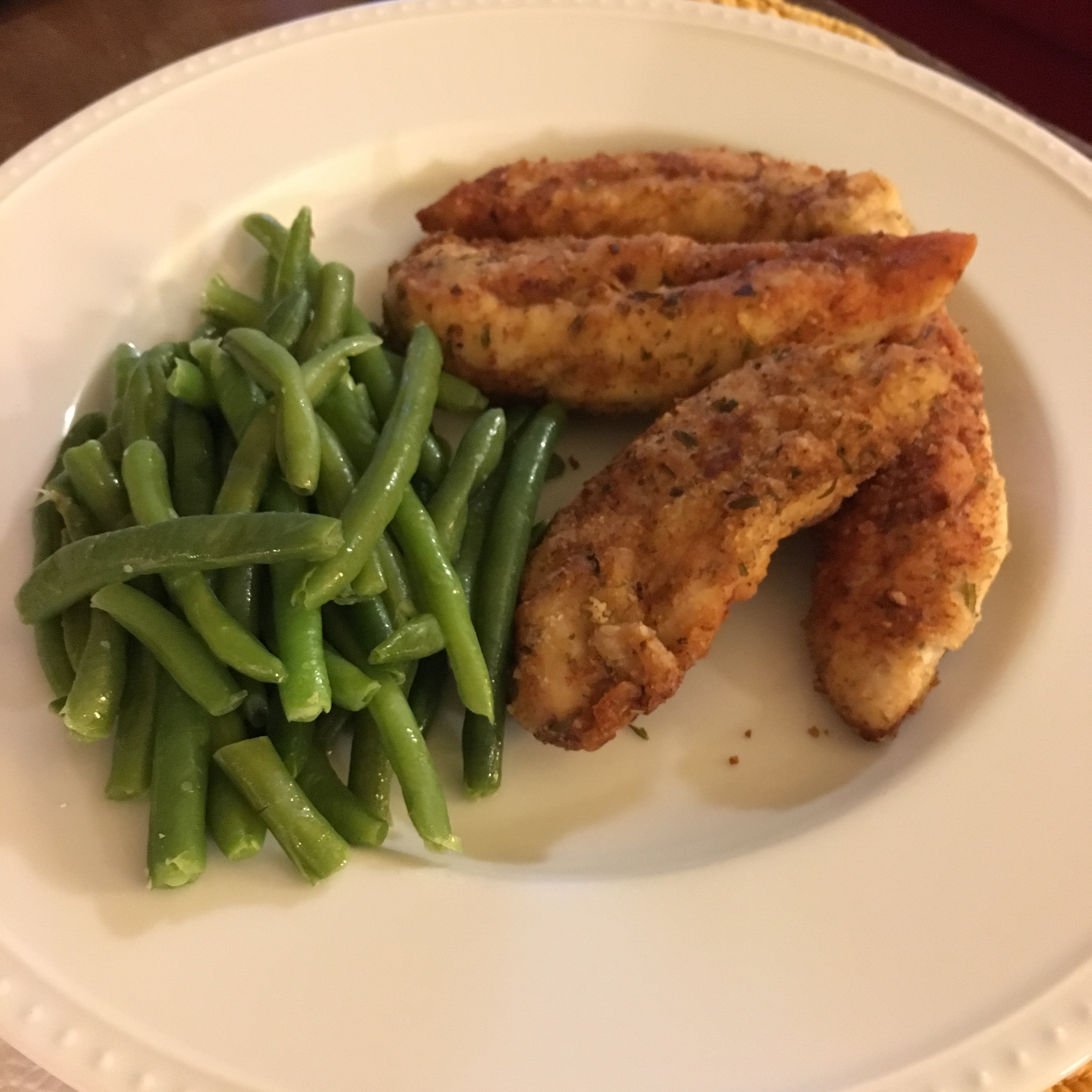 Walnut-Tarragon Chicken Tenders Jeanne