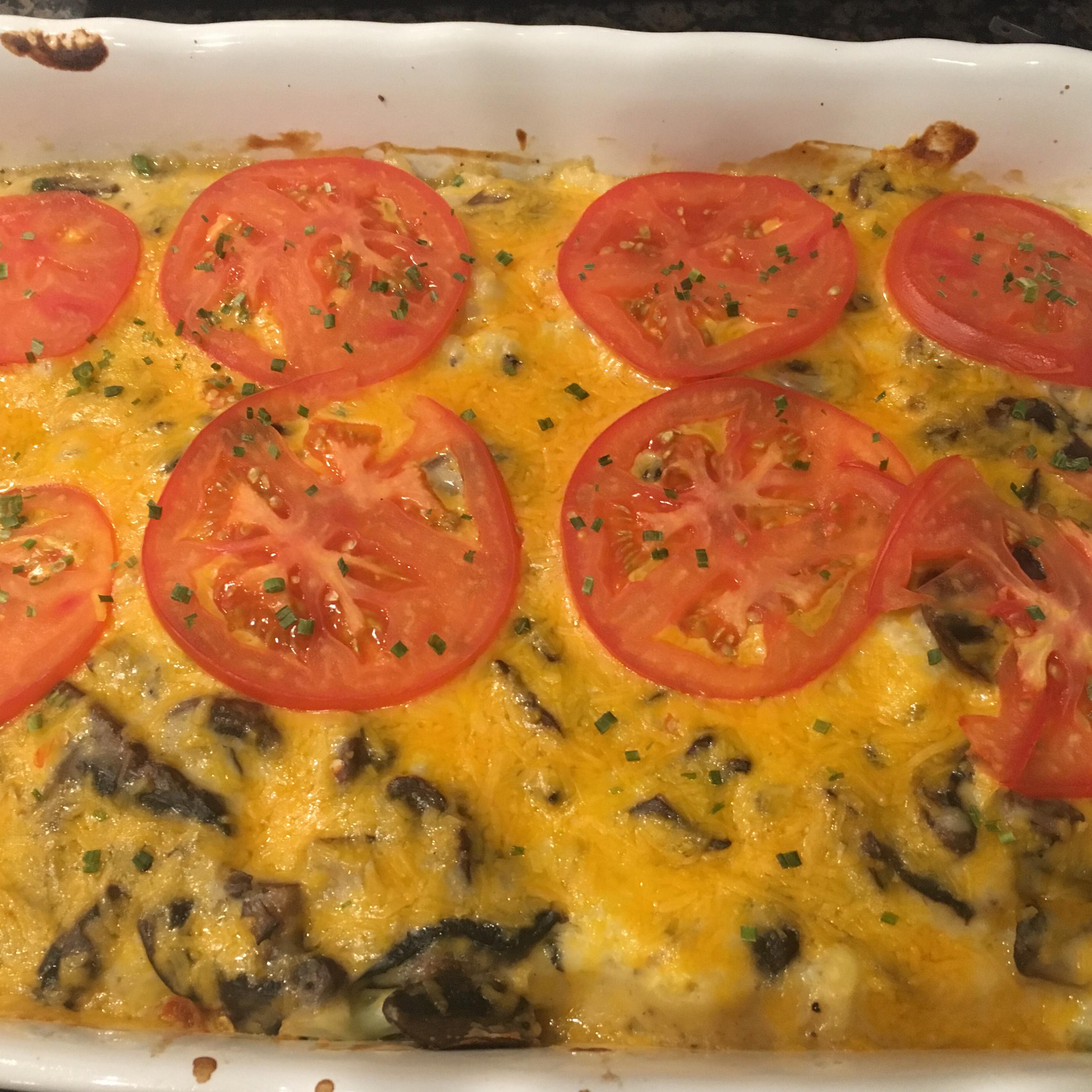 Cheesy Baked Cauliflower II Robin Leighbuchanan
