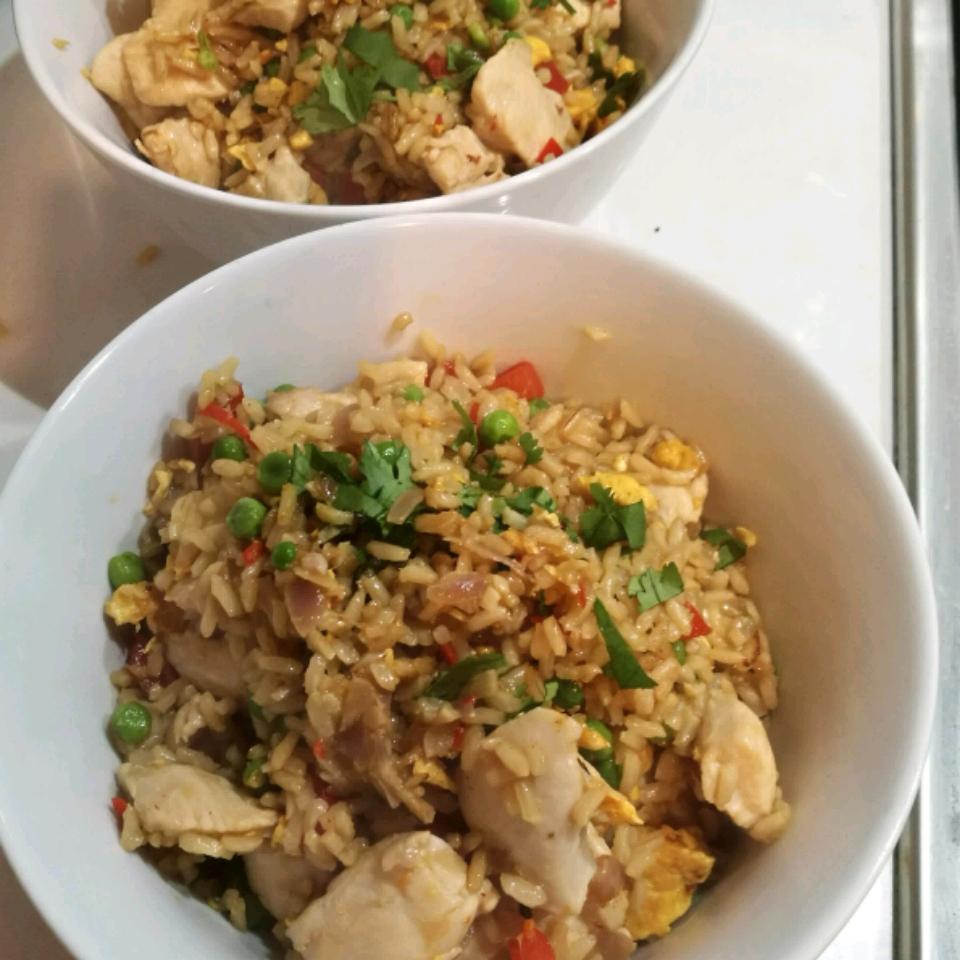Garlic Chicken Fried Brown Rice Mark Wastall