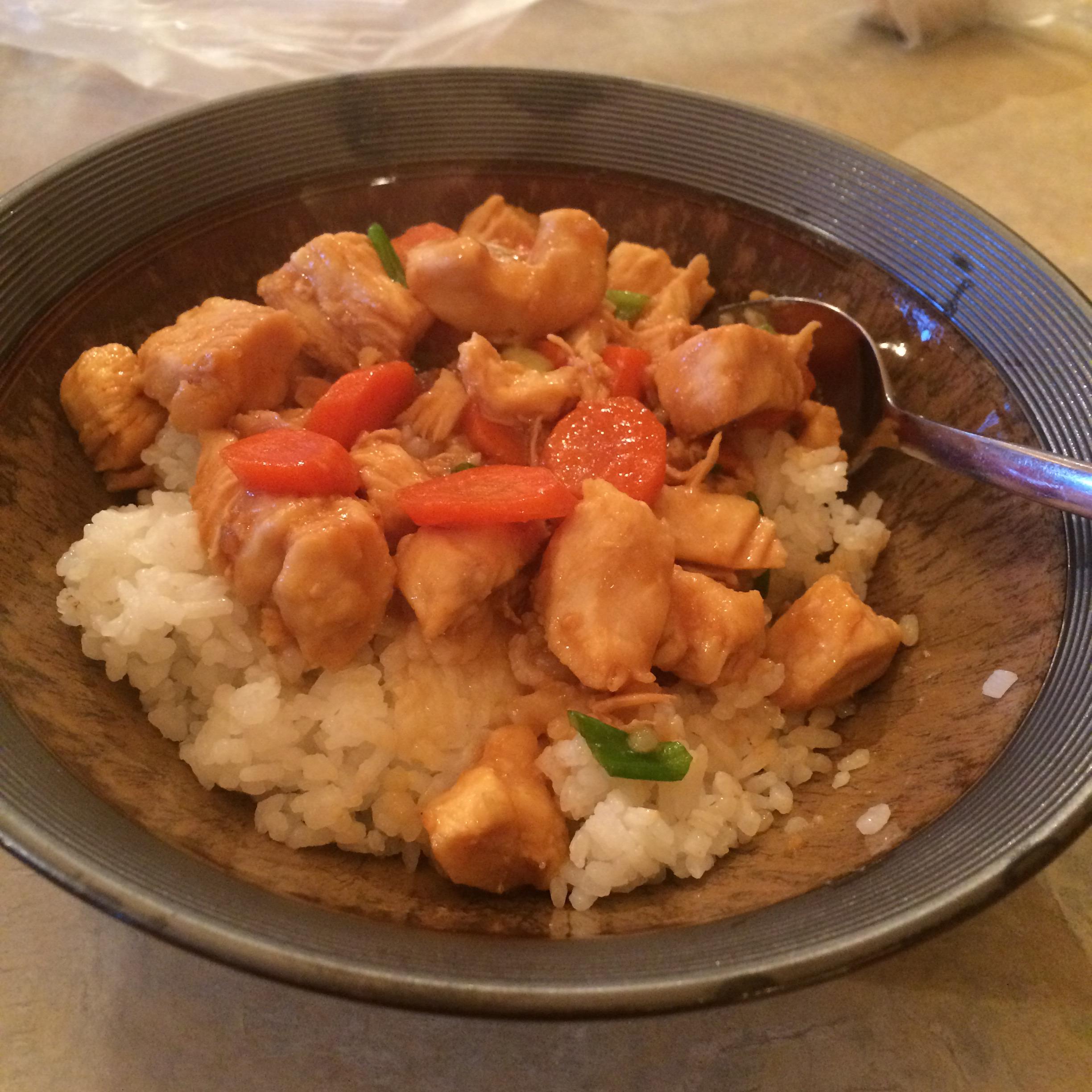 Ten Minute Szechuan Chicken Andrea