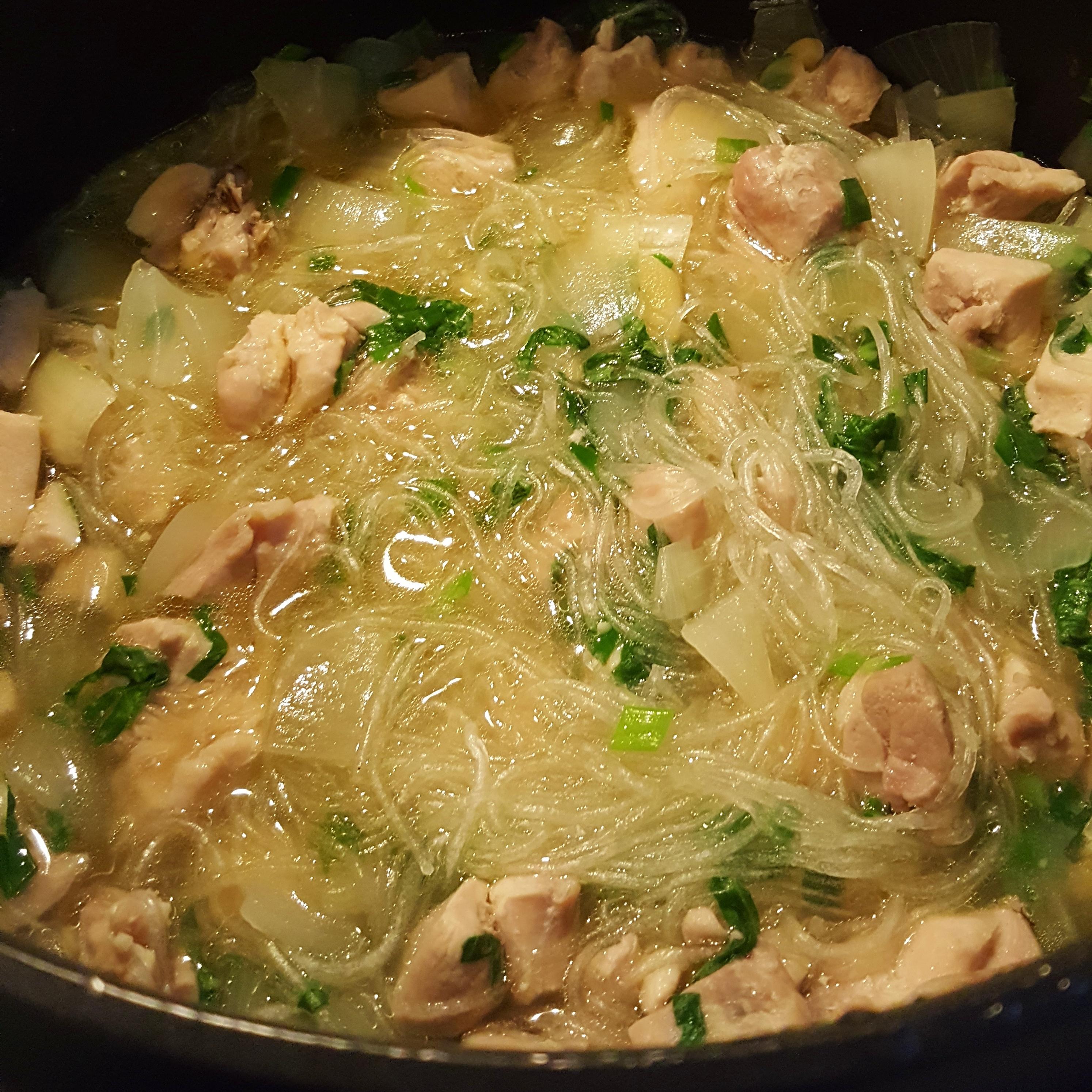 Chicken Long Rice Soup Mandee Yonehiro