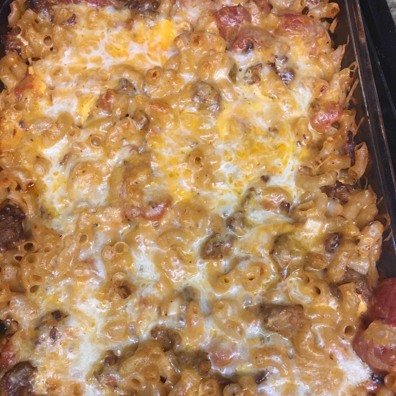 Cheesy Smoked Sausage Casserole image