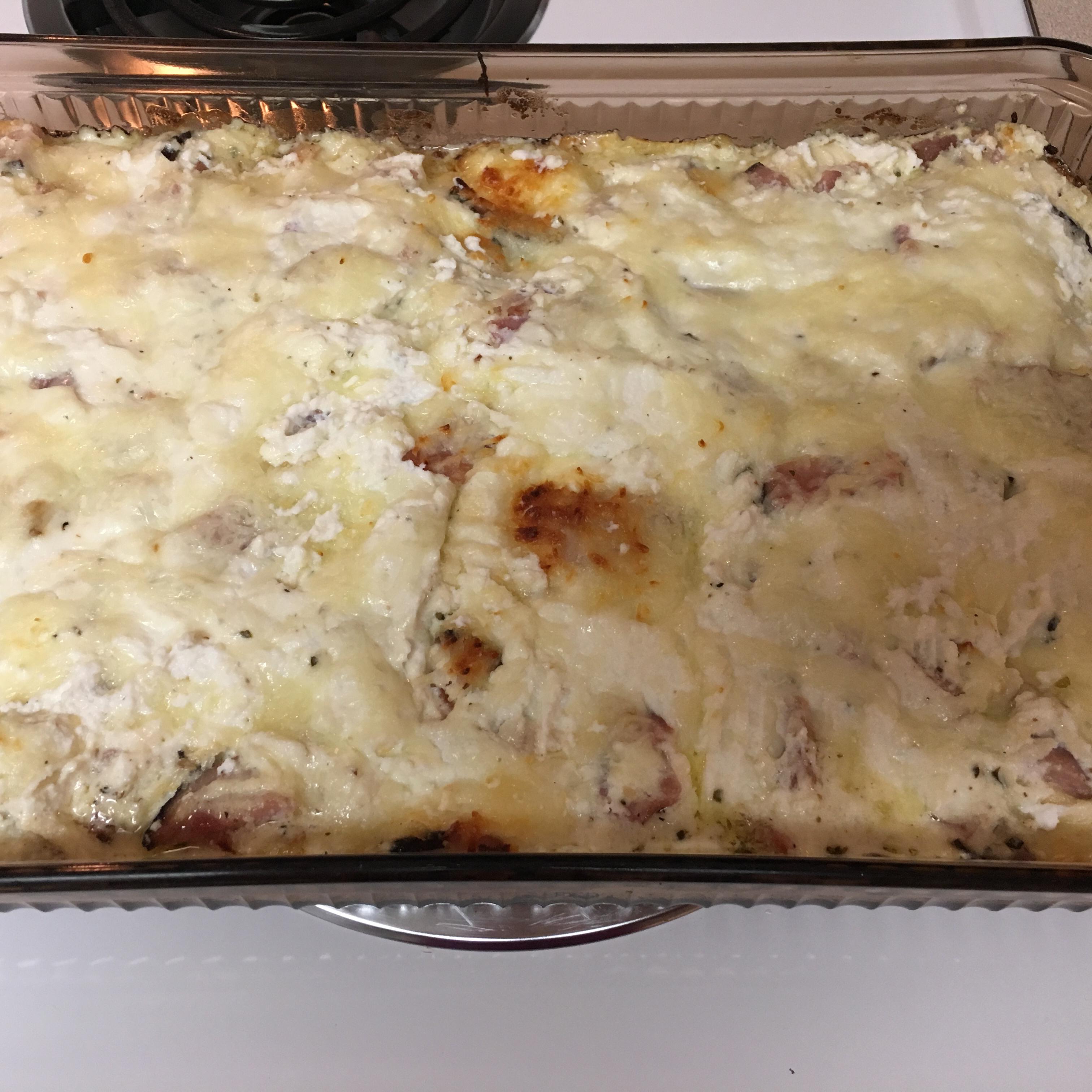 Chicken Cordon Bleu Lasagna Vicki  Regal