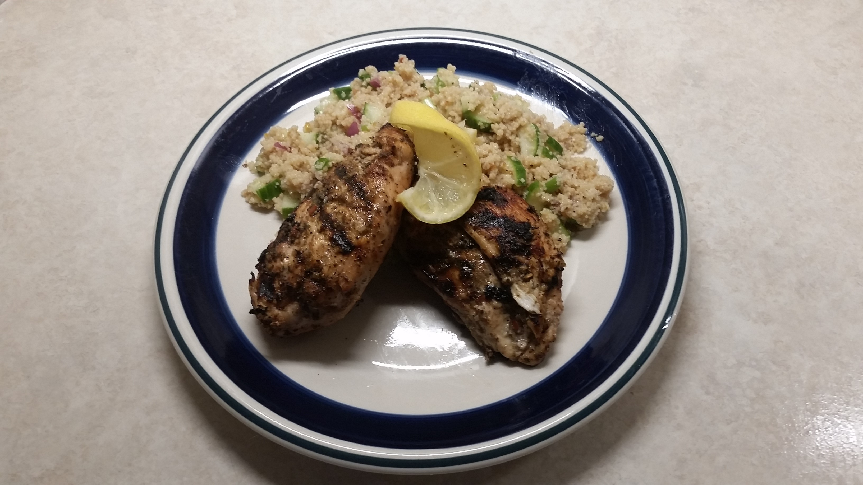 Grilled Greek Chicken Bradley Dudley